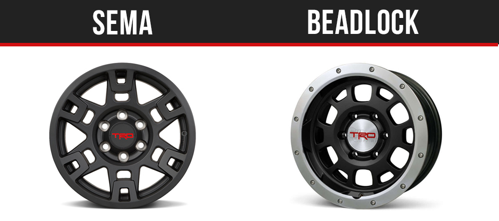 TRD SEMA & Beadlock - 4Runner Wheels