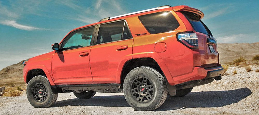 Toyota TRD 4Runner Wheels
