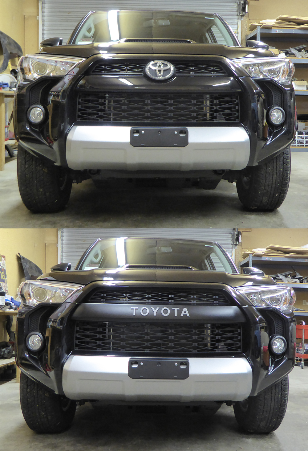 Trd Pro 4runner Grill Swap Kit 5th Gen 2016 The