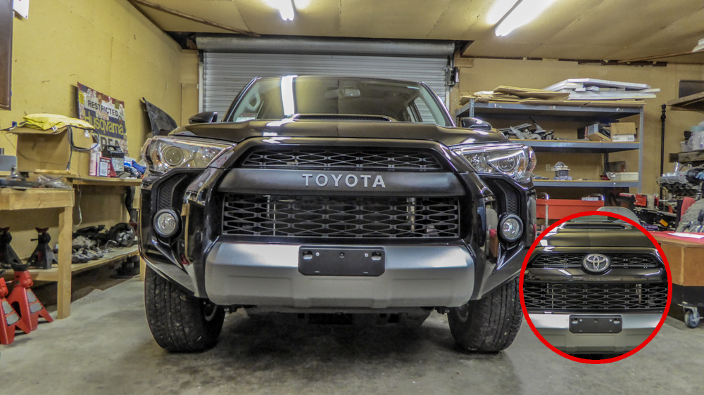 TRD Pro 4runner Grill Swap - Before and After