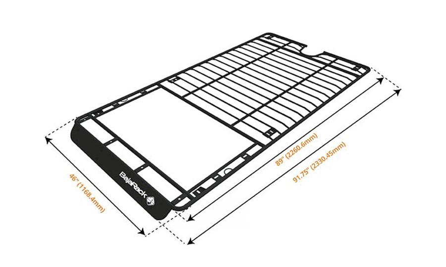 Toyota 4Runner BajaRacks Roof Rack Install 5th Gen ...