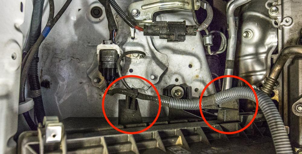 CAI Install - Step 3 - Remove Air Box Brackets
