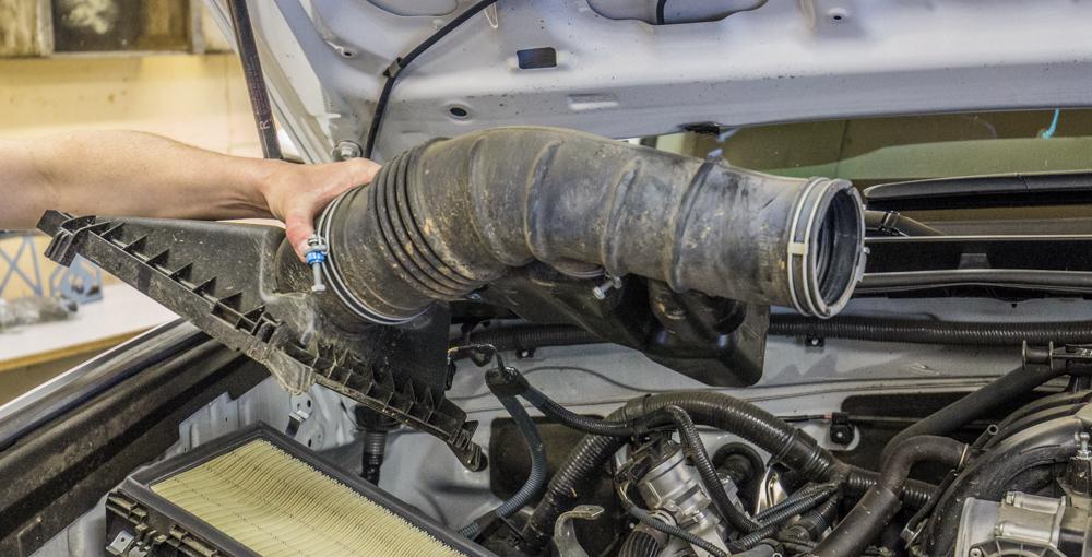 CAI Install - Step 4 - Remove Upper Air Box
