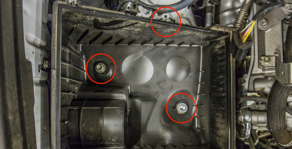 CAI Install - Step 5 - Remove Lower Air Box