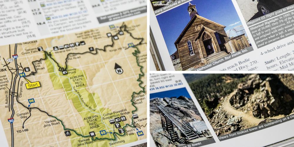 California 4x4 Trails California Backroads  4x4 Trails Guide