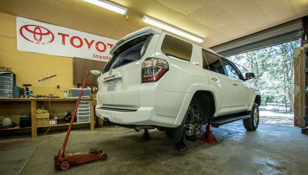 Rear Spacer Leveling Kit - 5th Gen 4Runner
