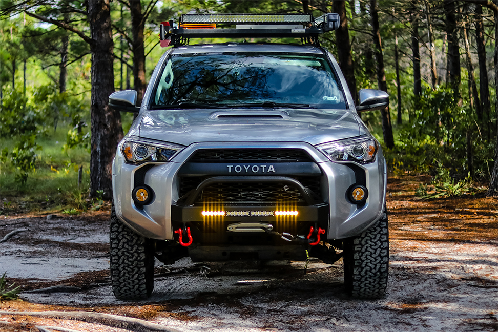 2016 trail 4runner swell runner c4 fab lo pro bumper