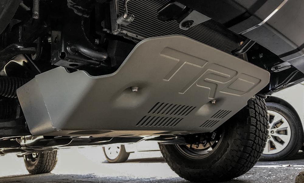 2017 TRD Pro Cement - TRD Skid Plate