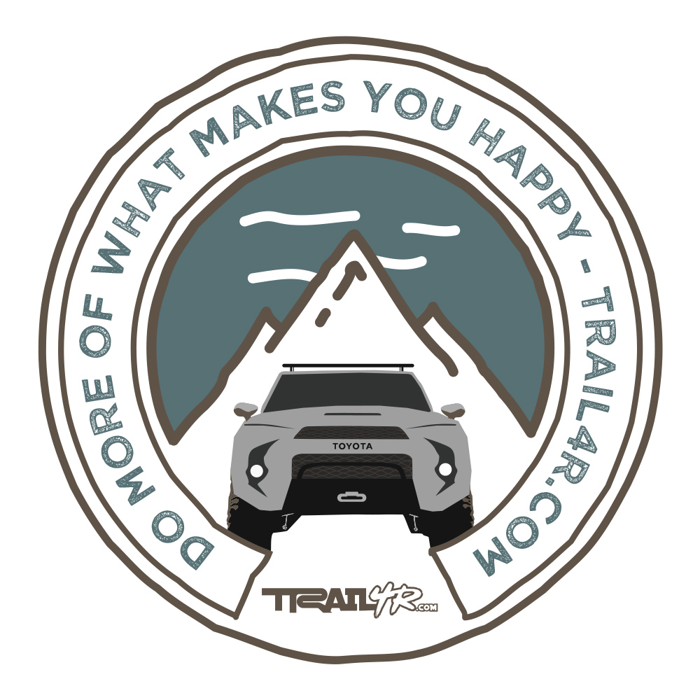 5th Gen 4Runner Patch - Classic Silver