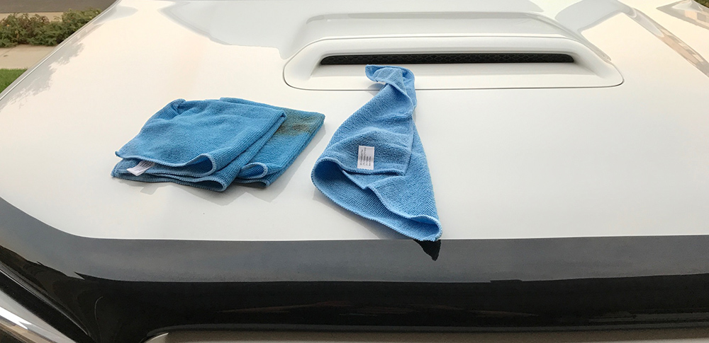 Cleaning 5th Gen 4runner Engine - Microfiber Towels