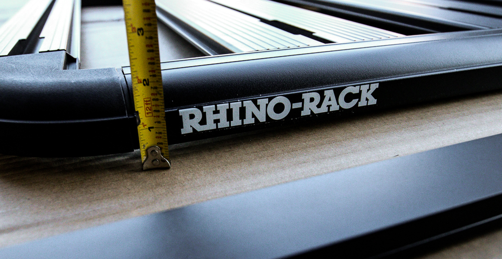 Rhino-Rack Slim, Sleek and Clean Design