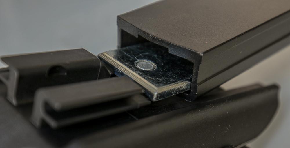 Rhino-Rack Install Step #1 - Slide CXB Leg to Crossbars