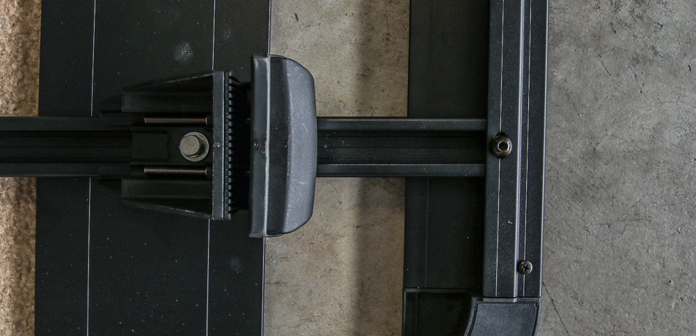 Rhino-Rack Install Step #6 - Insert Spacer & Screw Down Hardware
