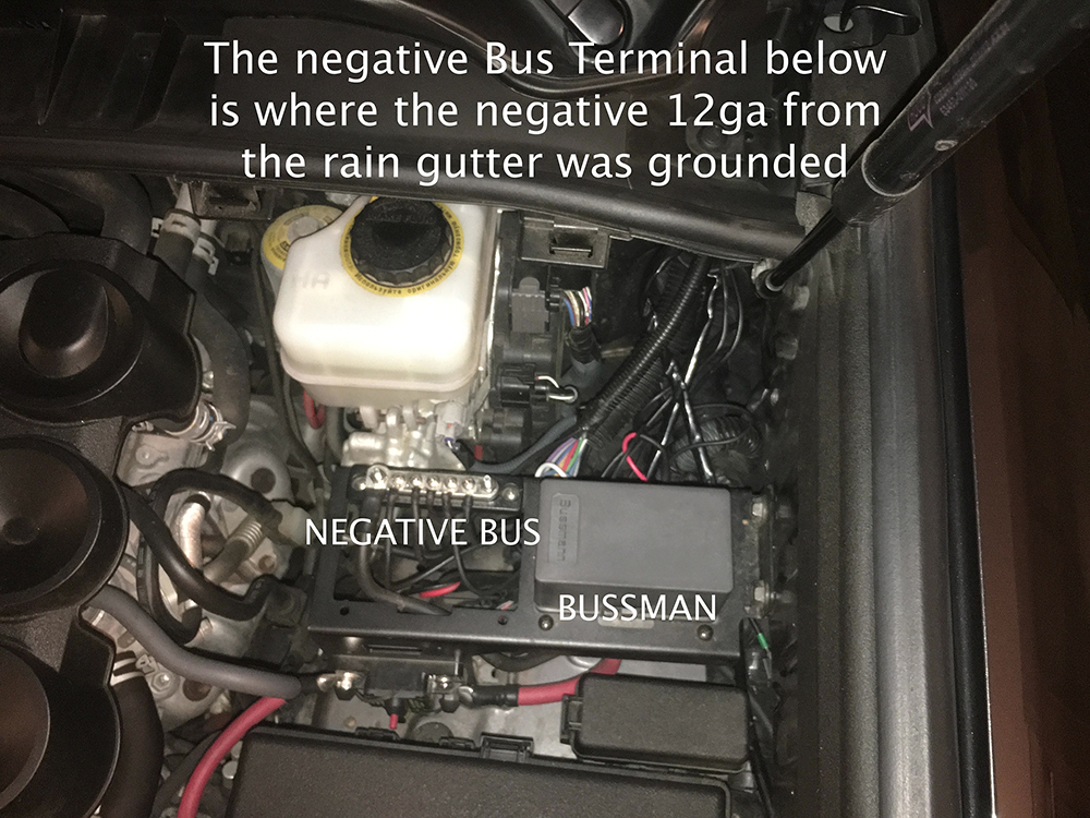 Bussman, Circuit Breaker, Negative Bus and Bracket