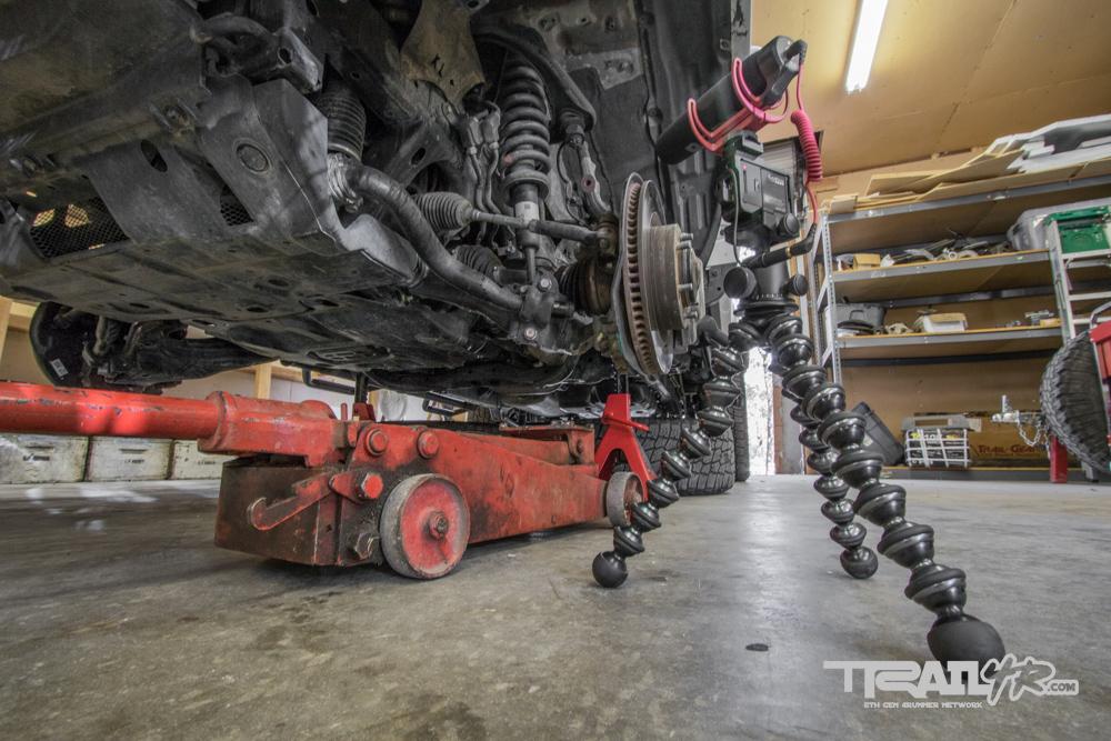 Break Nuts, Jack Up Truck, Remove Tires