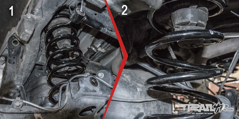 Icon Rear Step 8: Rear Coil Spring Fitment