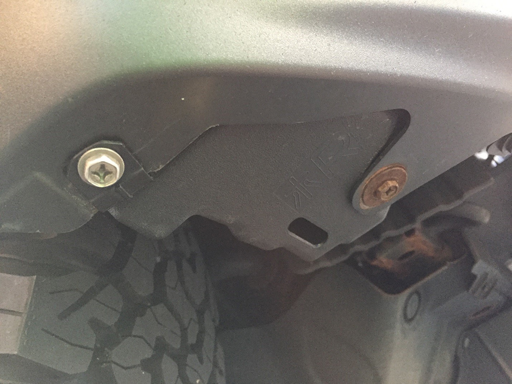 Limited Fender Mod - Underneath View