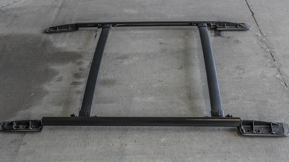 Step 6: ReInstall 5th Gen 4Runner Plasti-Dip Roof Rack