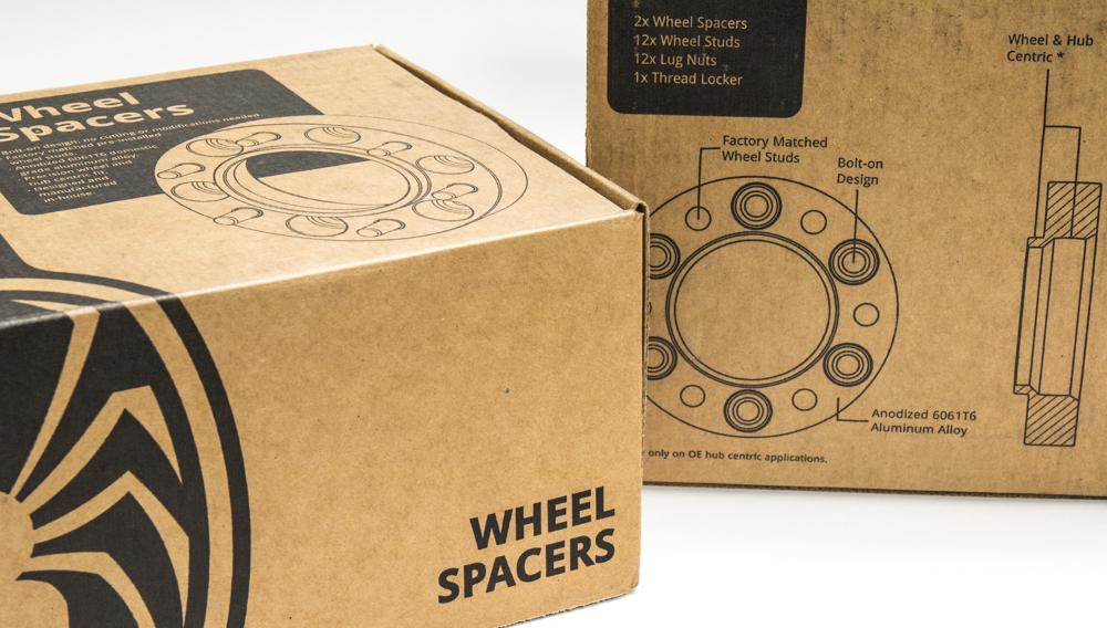 Spidertrax Wheel Spacers 5th Gen 4Runner - New In Box (Full Set)