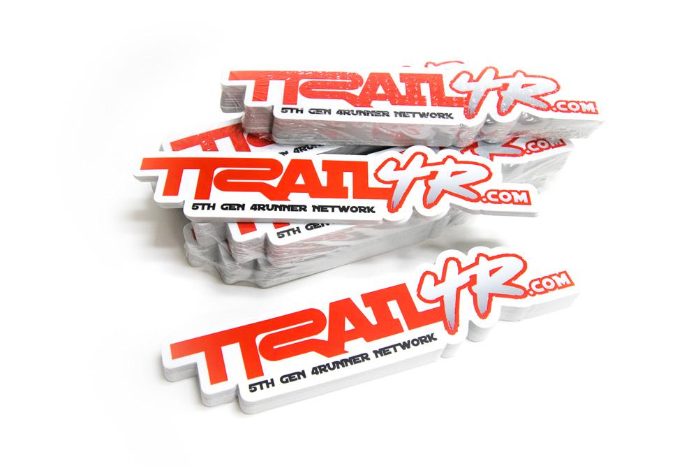 trail 4r 4runner stickers