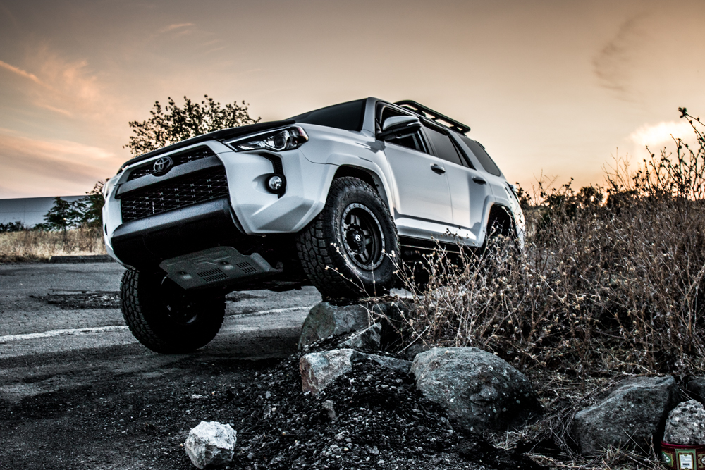 4runner Icon Stage 2 Suspension Flexed