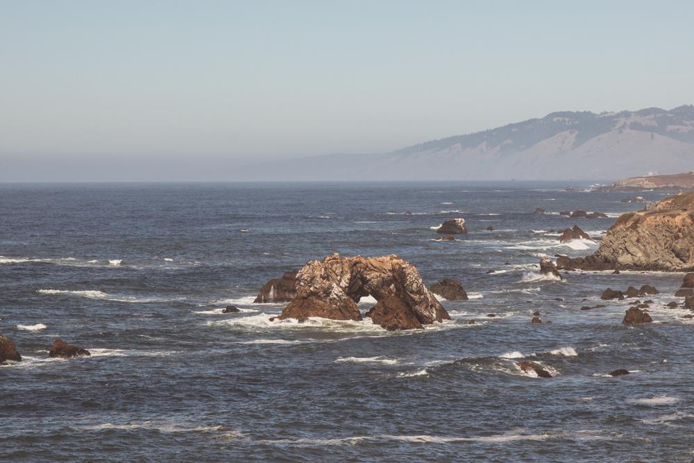 Bodega Bay Sonoma Coast Arched Rock