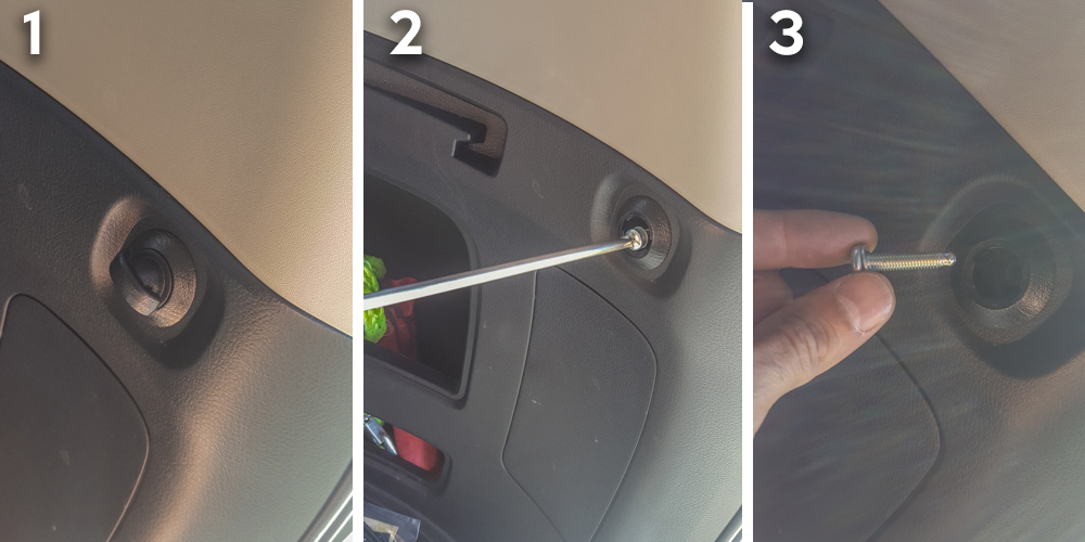 Rago Fab 5th Gen 4Runner MOLLE Panel Install - Step 2