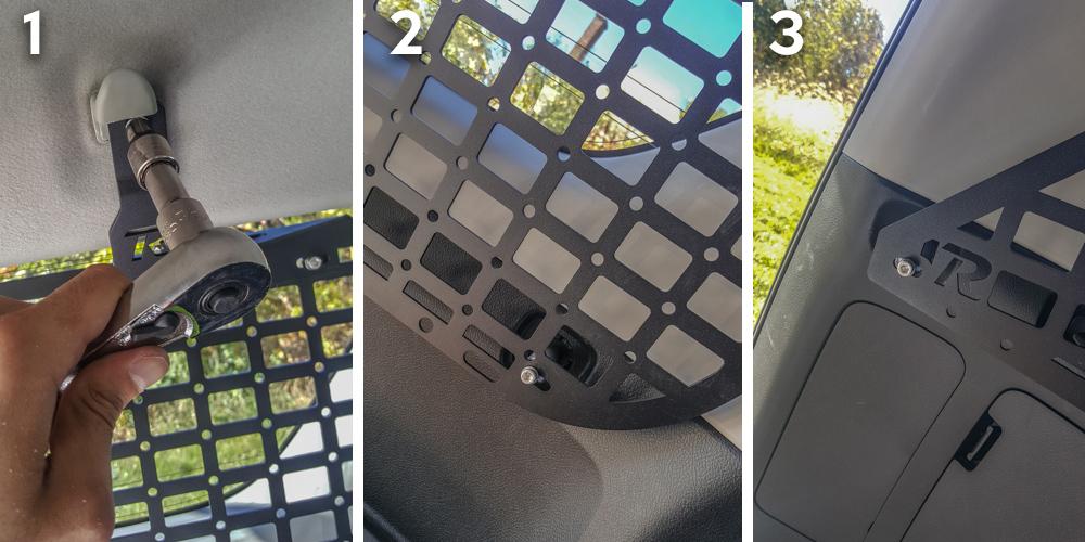 Rago Fab 5th Gen 4Runner MOLLE Panel Install - Step 5