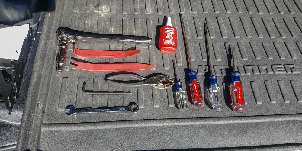 Rago Fab MOLLE Storage Panel (Installation Tools)