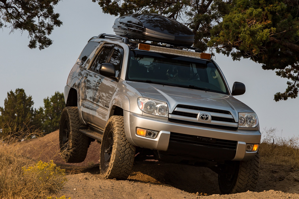 An Off-Road Overview of the4th Gen Toyota 4Runner 2003-2009