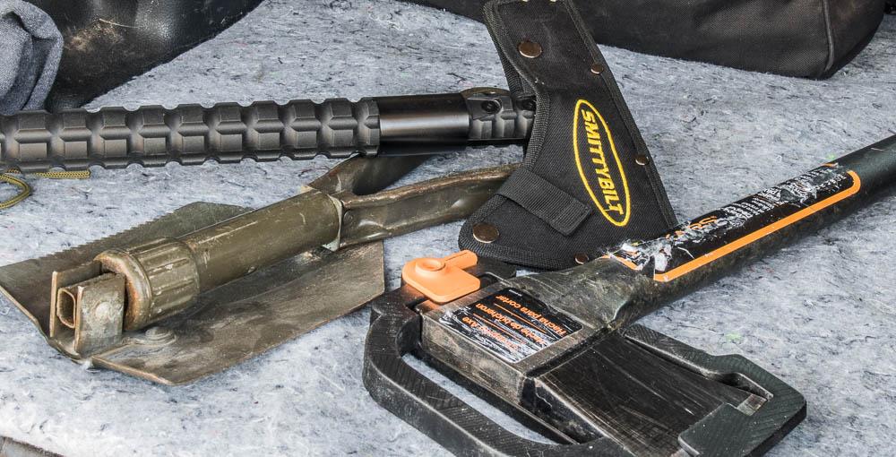 4runner Accessories/Gear/Tools - Shovel, Hatchet & Axe