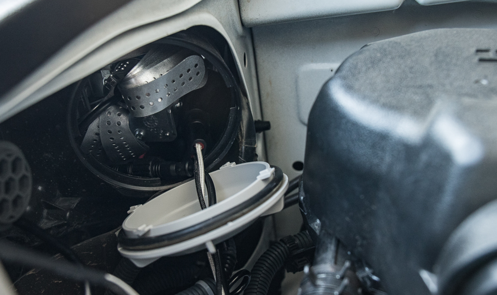 Low Beam (H11 Bulb) Install - Step #12B: Plug In Everything/ Screw on Dust Cap
