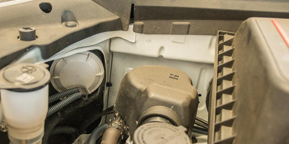 4Runner LED Headlight Install - Remove Dust Caps
