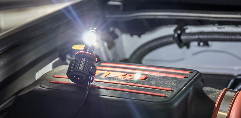 4Runner LED Headlight Install - Testing LED Lights