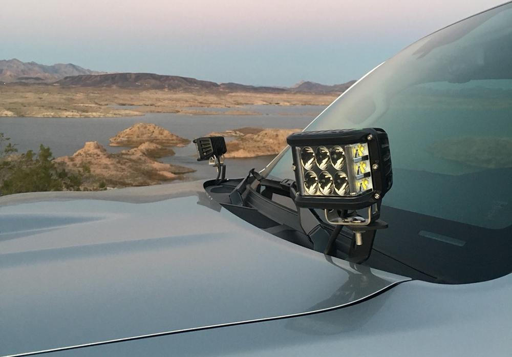 Cali Raised Ditch Lights 5th Gen 4Runner - Review