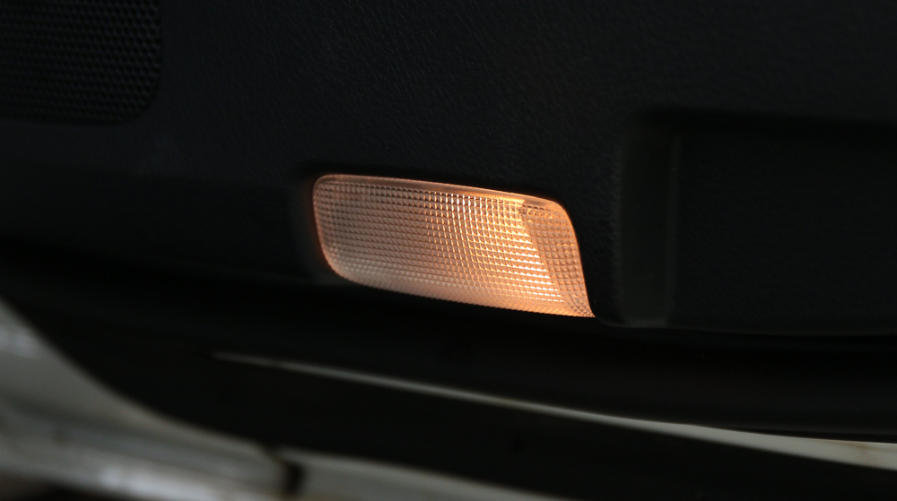 Courtesy Door Lights 4Runner (LED Swap - Before and After)
