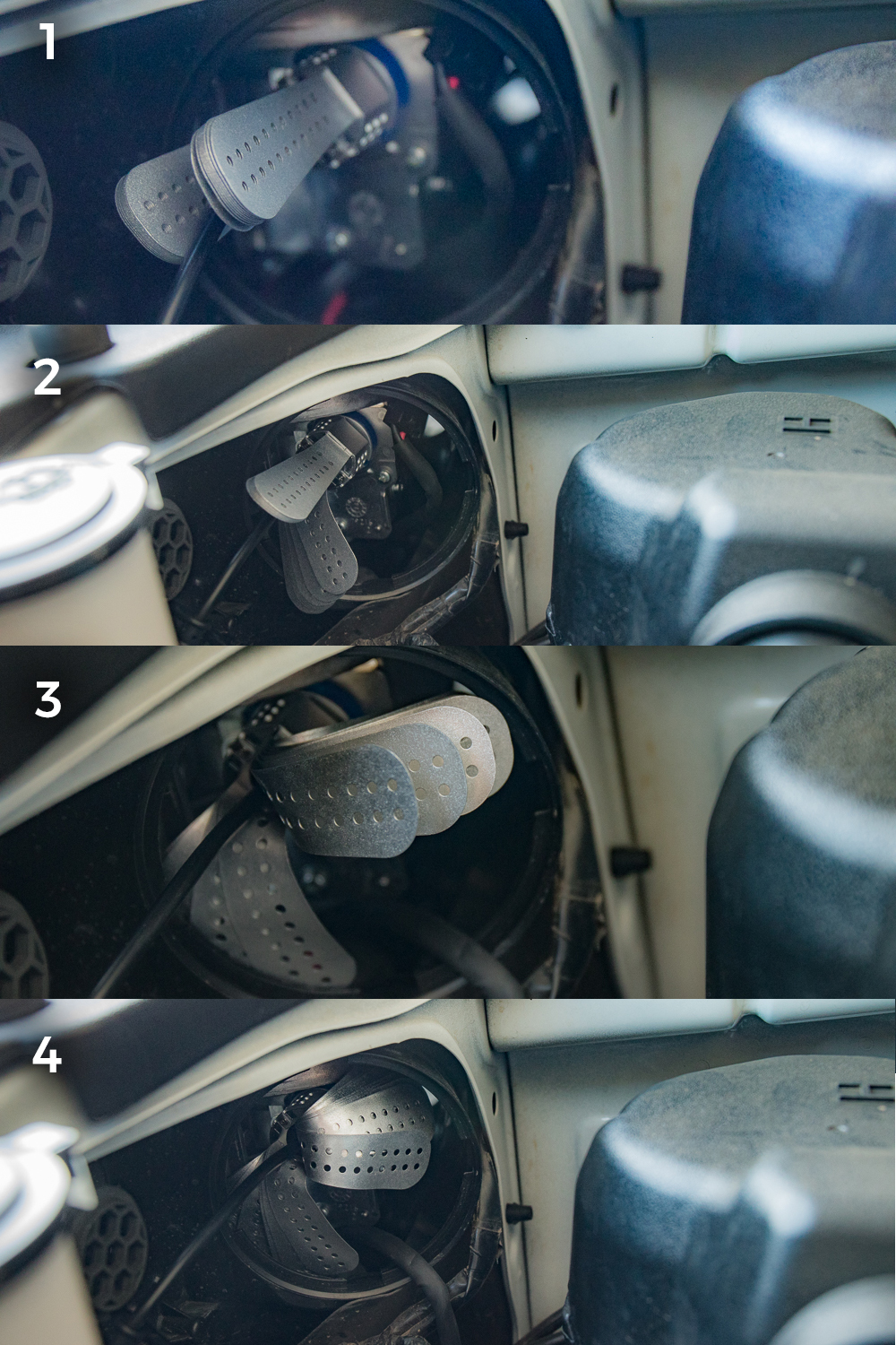 Low Beam (H11 Bulb) Install - Step #11: Plug in your LED Lights
