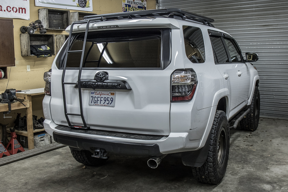 Gobi 4Runner Ladder Installation Steps
