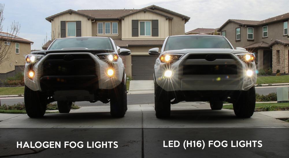 Fog Light Upgrade 5th Gen 4Runner (Before and After)
