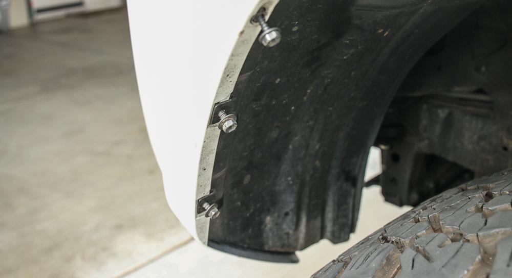 LED Fog Light Bulb (H16) Install Step #10 - Put Fender Liner Back Into Place