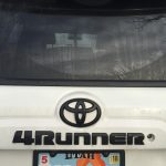 4Runner Black Emblems Vs. Plasti-dip